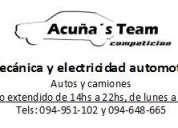 Mecanica y electricidad automotriz, autos y camiones