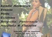 Estudio fotografico / eventos / publicidad / books / catalogos y +