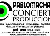 Discoteca concierto producciones
